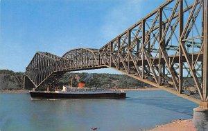 Quebec Bridge Cunard Line Ship Unused