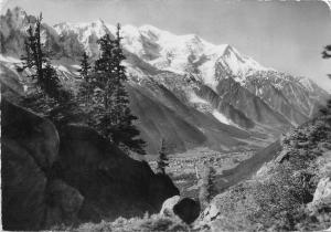 BR37979 Chamonix Mont Blanc chaine du mont blanc france