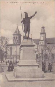 France Bordeaux Statue de Vercingetorix 1916