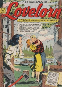Lovelorn 1950s Romance Comic Book Love Thy Neighbour Postcard