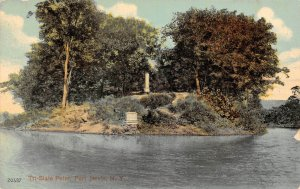 LP56  Port Jervis New York Postcard  Tri State Point