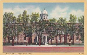 Nevada Carson City State Capitol Building Curteich