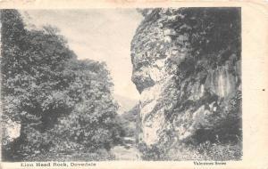 Peak District, Dovedale, Lion Head Rock, Valentine's Series 1904