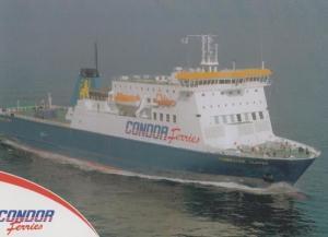 Commodore Clipper Condor Ferry Ferries Rare Official Postcard