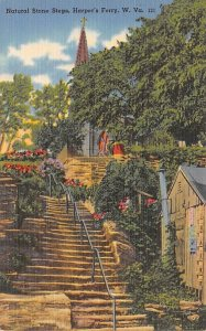 Natural Stone Steps, Harpers Ferry, WV