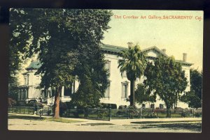 Sacramento, California/CA Postcard, The Crocker Art Gallery