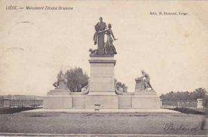 Belgium Liege Monument Zenobe Gramme 1906