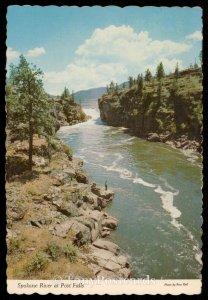 The Spokane River at Post Falls