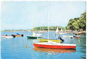 Hungary, Greetings from Lake Balaton, used Postcard