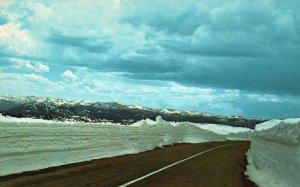 Beartooth Hi-Way 212, Montana, MT, 1971 Chrome Vintage Postcard g8482
