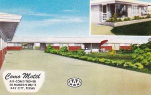 Texas Bay City The Como Motel