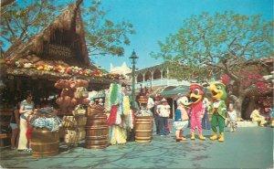 Postcard Disneyland the three caballeros in adventureland