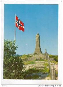 Norway, 50-60s, Saltdtraumen. Minnestotten. The Monumental Column.