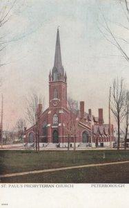 PETERBOROUGH, Ontario, Canada, 1900-10s; St. Paul's Presbyterian Church