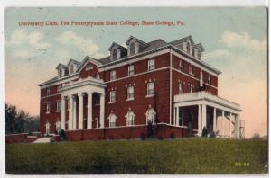 University Club, PA State College PA