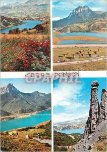 Postcard Modern Haute Vallee de la Durance Lake Greenhouse Poncon