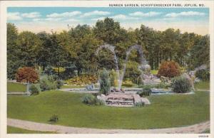 Sunken Garden Schifferdecker Park Joplin Missour