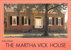 Martha Vick House - Vicksburg, Mississippi