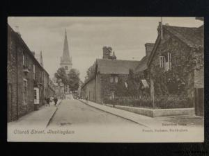 Buckinghamshire BUCKINGHAM Church Streetc1906 by French, Stationer, Buckingham