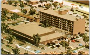 Louisville, KY Postcard HOLIDAY INN Convention Center Architect's Model c1970s