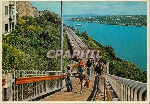Postcard Modern Quebec That Promenade Governors along the Citadel