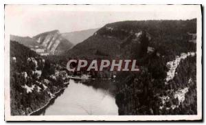 Modern Postcard Villers le Lac General view of the last basin of the Doubs