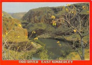 Australia Lake Argyle W.A. The Ord River below the ARgyle dam Wall