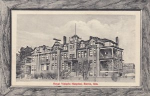 BARRIE, Ontario, Canada, 00-10s; Royal Victoria Hospital