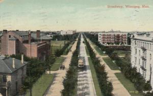 WINNIPEG , Manitoba , 1910 ; Broadway #3