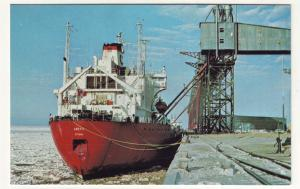 P703 1979 ship mv artic photos loading grain port of churchill canada