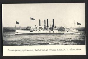 Fall River, Mass/MA Postcard,Steamer Newport/Fall River Line