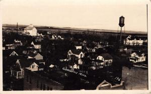 Graceville Minnesota~Town Panorama~Homes~Water Tower~Mill Elevator~1922 RPPC