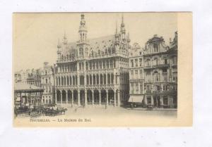 La Maison Du Roi, Horse Carriage, Bruxelles, Belgium, 1900-1910s