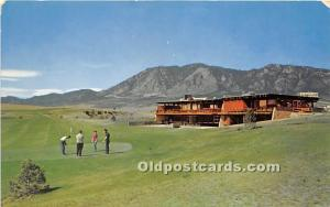 Old Vintage Golf Postcard Post Card Stratmoor Hills Golf Course Colorado Spri...
