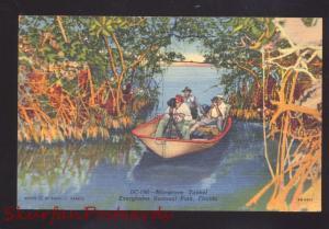 EVERGLADES NATIONAL PARK FLORIDA BLACK AMERICANA NEGRO BOAT