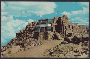 Summit of Mt Evans,CO Postcard BIN