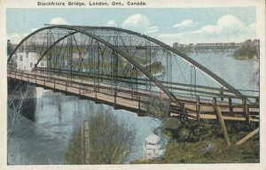 LONDON , Ontario , Canada , 1910-30s ; Blackfrairs Bridge