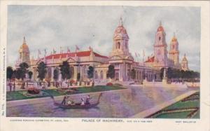 Palace Of Machinery Louisiana Purchase Expo St Louis 1904