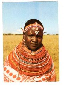 Samburu Girl, Kenya
