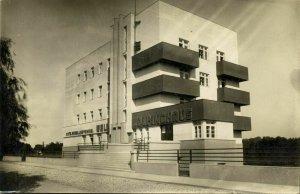 austria, WELS O-Ö., Kolpinghaus Bauhaus Architect Hans Steineder (1930-32) RPPC