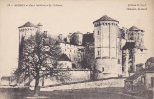 SAUMUR, Maine Et Loire, France, 1900-1910's; Cour Interieure du Chateau, Libr...