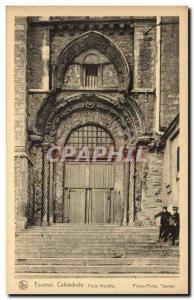 Old Postcard Belgium Tournai Cathedrale