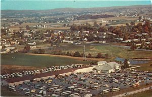 Meadowbrook Farmers Market Leola Pennsylvania PA aerial view Postcard