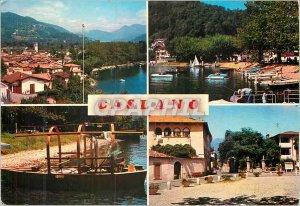 Postcard Modern Caslano Lago di Lugano