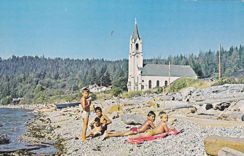 Beach , SECHELT , B.C., Canada , 50-60s