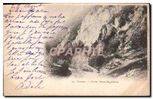 Old Postcard Lourdes Grotto St. Magdalene