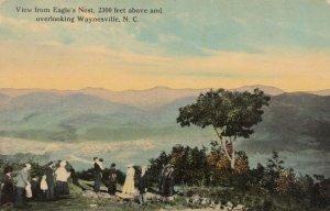 WAYNESVILLE , NC, 1913 ; Eagle's Nest View