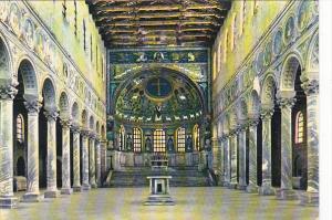Italy Ravenna Interior Basilica of Saint Apollinaris in Classis