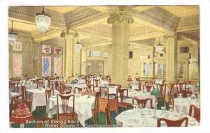 Section of Dining Room, Hotel Stewart, San Francisco, California, 00-10s