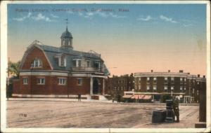 Dorchester MA Codman Square c1910 Postcard